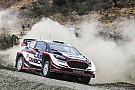 WRC Evans lidera el primer día en Argentina