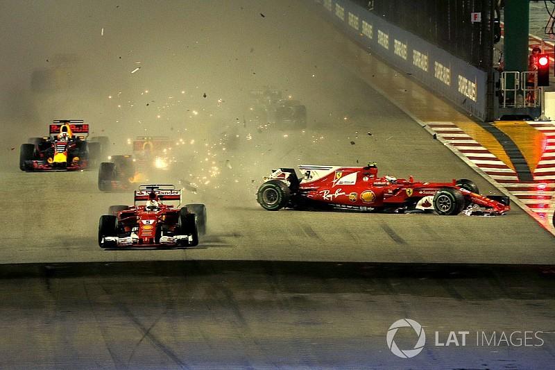"""فيرشتابن: تصرّف فيتيل """"غير الذكي"""" هو السبب الرئيسيّ وراء حادث انطلاقة سباق سنغافورة"""