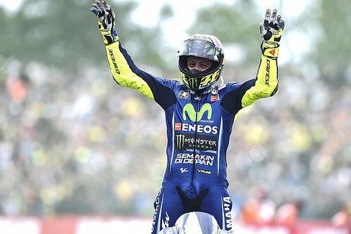 In beeld: Rossi wint voor de tiende keer op Assen