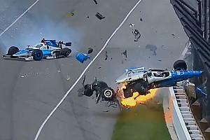 VÍDEO: Acidente assustador marca Indy 500