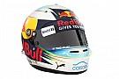 F1 Ricciardo muestra los nuevos colores de su casco para 2017