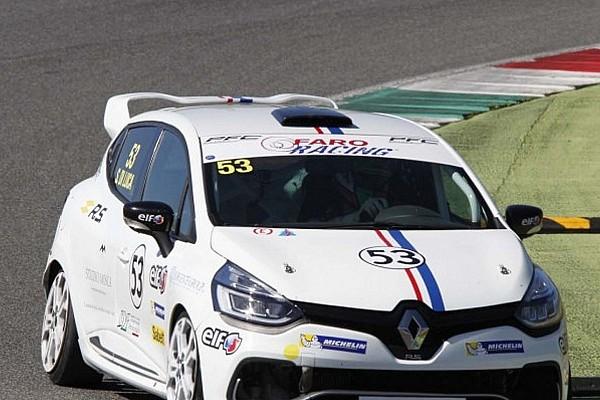 Clio Cup Italia Di Luca Domina con Faro Racing nel round inaugurale del Mugello