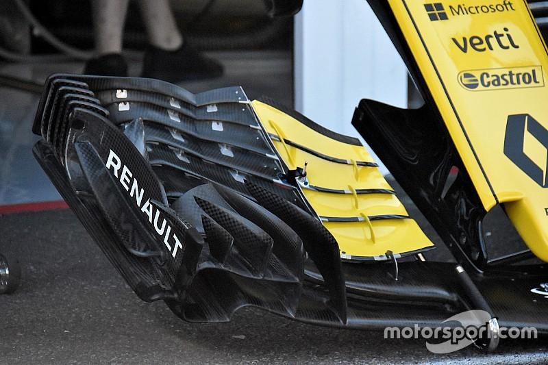 Renault привезла в Германию концептуально новое переднее крыло