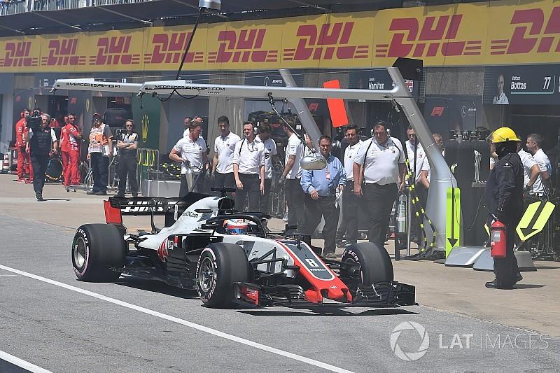 Grosjean volta a usar motor que explodiu no Canadá