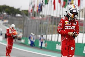 Fórmula 1 Noticias Vettel reconoce por qué perdió la pole en Brasil: