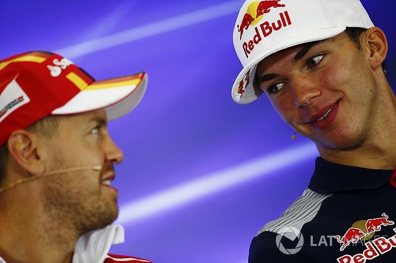 Gasly: Toro Rosso'nun tecrübeli pilotu haline gelmek biraz garip!