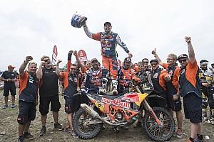Дакар Репортаж з етапу Дакар-2018, фініш: Валькнер - переможець мотозаліку