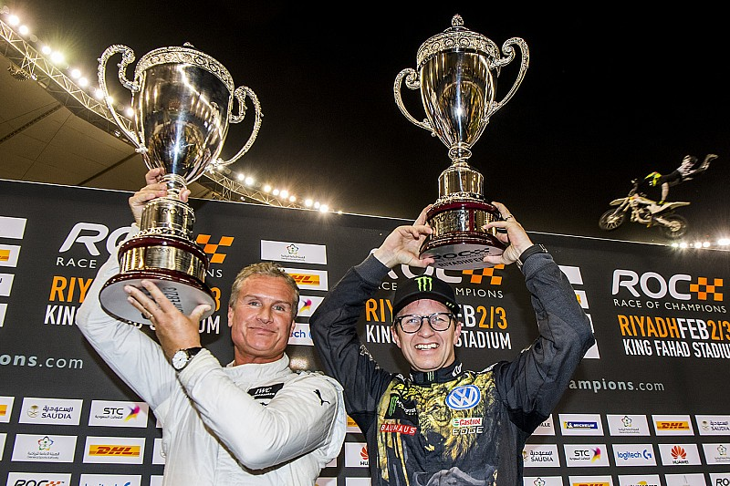 Race of Champions 2018 in Riad: Coulthard siegt gegen Solberg