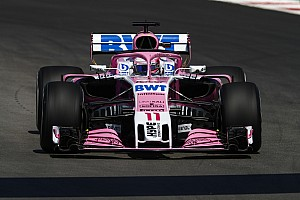Pérez dice que el coche de Force India necesita downforce