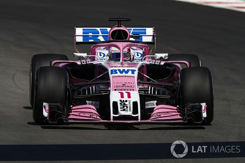 Pérez dice que el coche de Force India necesita downforce