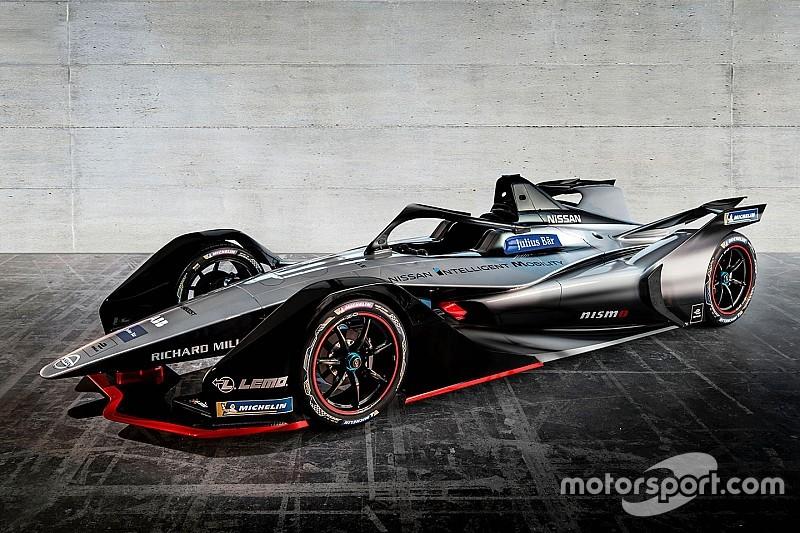 [FE] 日产在日内瓦车展上发布下赛季FE赛车涂装