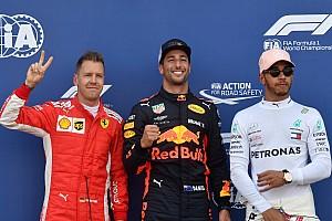 La parrilla de salida GP de Mónaco
