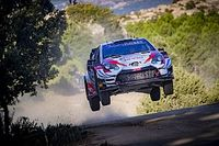 WRC leader Evans upbeat despite Rally Italy struggles
