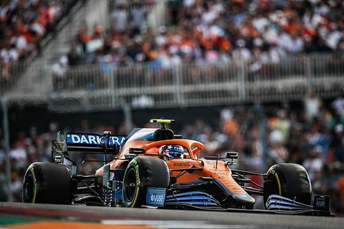"""Norris: """"Ferrari'yi sıralama turlarında yenmek için 'mükemmel' olmalıydık"""""""