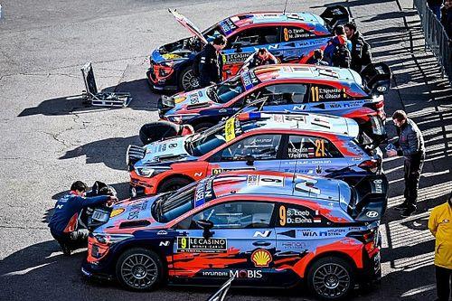 WRC: Hyundai ha svelato gli equipaggi per il Mondiale Rally 2021