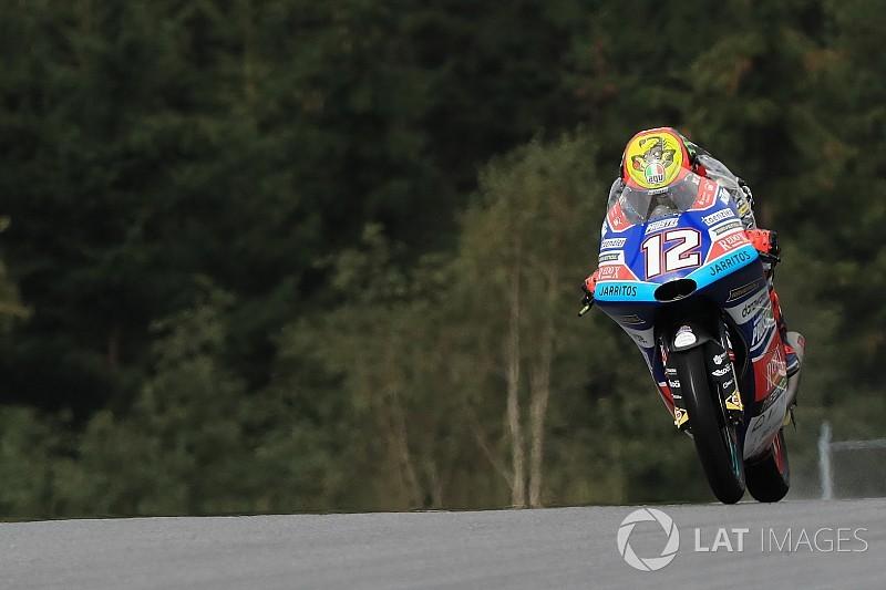 Moto3 Austria: Bezzecchi berjaya, Martin podium