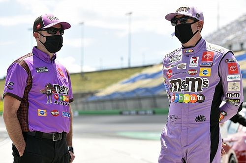 Two NASCAR Cup Series playoff crew chiefs suspended