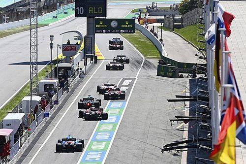 La parrilla de salida del GP de España de Fórmula 1