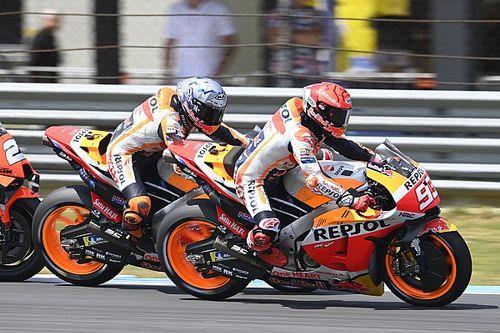 Marquez Mulai Latihan dengan CBR600RR