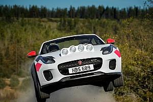 La Jaguar F-Type devient voiture de rallye