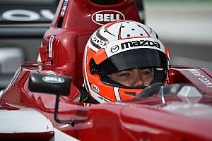 Pro Mazda Testing report Jamin's pace threatens Pelfrey at Mid-Ohio
