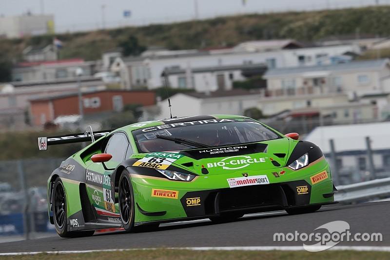 GT-Masters in Zandvoort: Grasser-Lamborghini dominiert Training