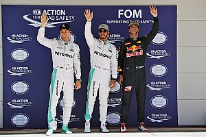 Formula 1 Qualifying report US GP: Hamilton scorches to pole ahead of Rosberg