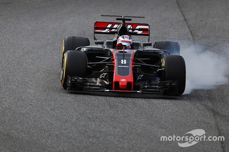 Grosjean cree que la solución para Haas es cambiar el proveedor de frenos