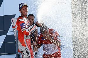 """MotoGP Noticias de última hora Dovizioso: """"Pusimos la moto en la posición adecuada en el momento justo"""""""