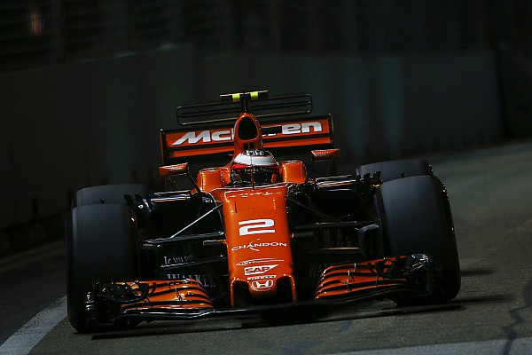 Vandoorne admite que McLaren