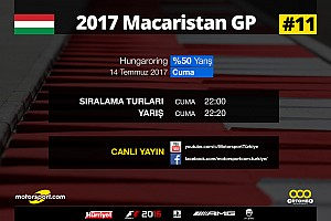 FORMULA 1 LİGİ Son dakika 2017 Macaristan GP Sanal Turnuva: Canlı Yayın