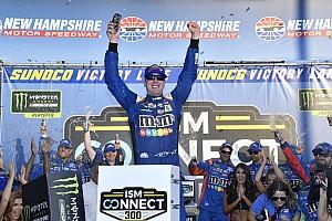 NASCAR Cup Reporte de la carrera Kyle Busch brilla en el  'Big One' y vence en New Hampshire
