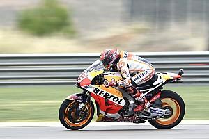 MotoGP Reporte de prácticas Márquez lideró la FP3 y Rossi pasó a la Q2