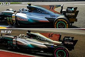 F1 Análisis Análisis: Las modificaciones que realzaron a Mercedes en Singapur