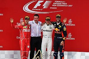 Formula 1 Yarış raporu Avusturya GP: Heyecan dolu finişte Bottas, Vettel'i arkasında tutarak kazandı!