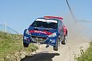 WRC Fotogallery: Sainz dà spettacolo alla Fafe con una Peugeot T16