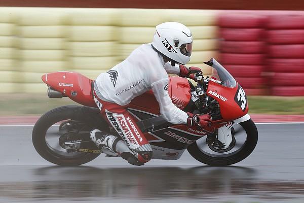 CEV CEV Moto3: Andi Gilang sempat terjatuh saat kualifikasi