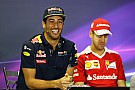 Ricciardo urges Ferrari to drop Vettel appeal