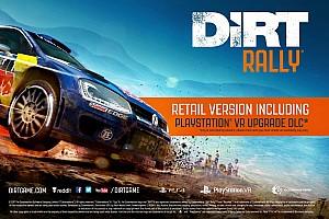 Sim racing BRÉKING Jön az új DiRT Rally: PS VR