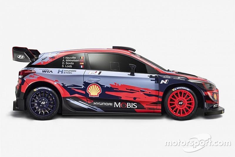 WRC teams reveal liveries for 2019 season