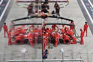 Ferrari logró en Brasil un pitstop