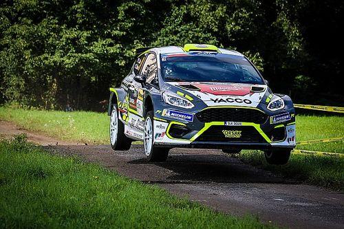 ERC, Barum Rally: Cais sale al comando nel finale della Tappa 1