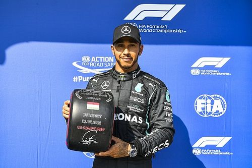 Hungarian GP: Hamilton leads Mercedes front row ahead of Verstappen