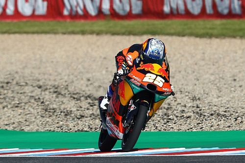 Moto3, Brno 3. antrenman: Fernandez ilk sırada, Deniz 20. oldu