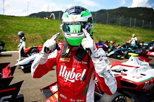 فورمولا 3: فيستي يسجّل فوزه الأول في النمسا مستفيدًا من إنهاء السباق مبكرًا