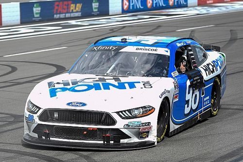 Chase Briscoe speeds, spins and still wins Pocono Xfinity race