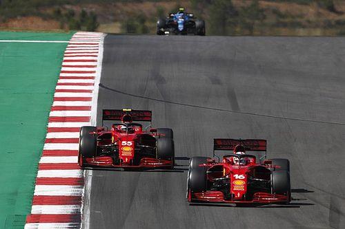 Ferrari elogia cómo Sainz aceptó dejar pasar a Leclerc