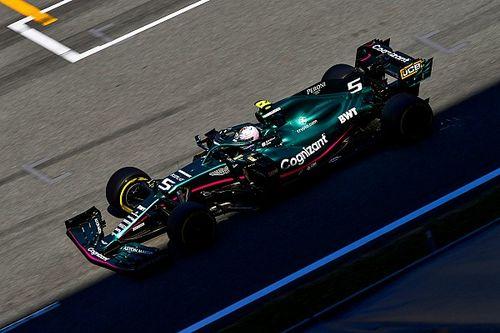 Trudne popołudnie Vettela