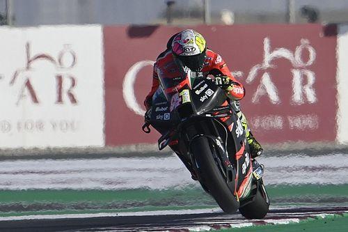 Test MotoGP Qatar, Giorno 3: Aprilia di nuovo al top alle 19