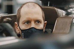 Sebastian Vettel a moulé son baquet chez Aston Martin